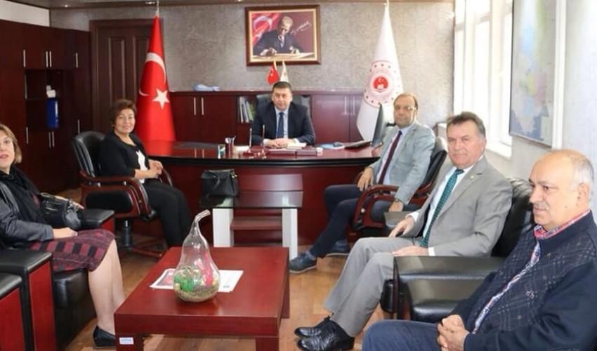 Adana Çevre ve Şehircilik İl Müdürü Halit ERGİN 'i Ziyaret