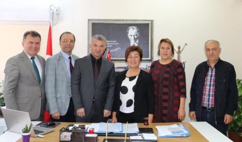 Adana Çevre ve Şehircilik İl Müdürlüğü Şube Müdürü İsmail ÜZER 'eZiyaret