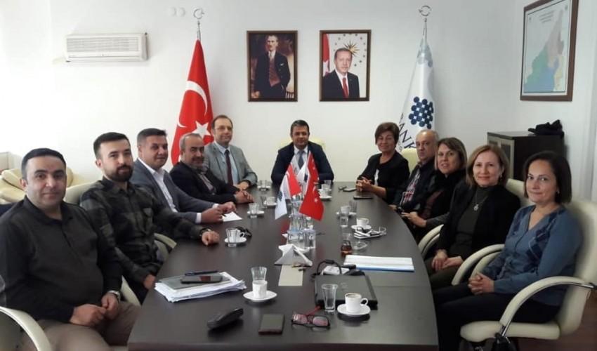 İller Bankası Adana Bölge Müdürü Muzaffer AKGÜNER'i Ziyaret