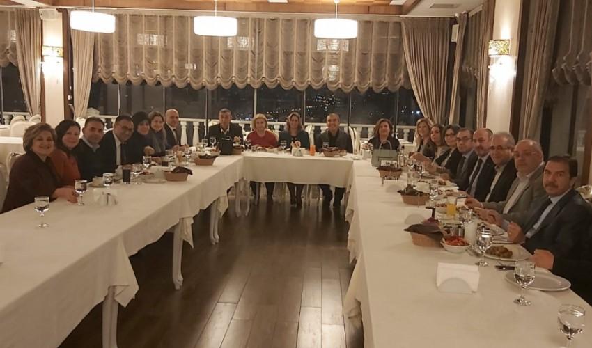 """KA-VAK GENEL MERKEZ YÖNETİMİ """"KA-VAK OCAK AYI TOPLANTISI"""" ANKARA KONAĞINDA YAPILDI"""